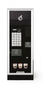 Distributeur automatique de café pouvant être pouvant être installée par Caf & Co