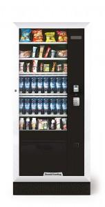 Exemple de distributeur de boissons et de friandises