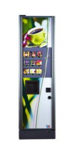 Distributeur automatique de soupes, il permet la distribution de soupes, de thés et de cafés solubles