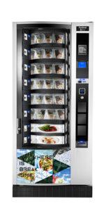 Distributeur automatique festival, il permet de contenir nos produits : sandwiches et denrées alimentaires pouvant être mise en place par Caf & Co