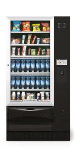 Grand distributeur automatique de boissons froides et de snacks